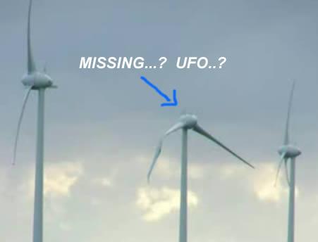 ufo wind turbine