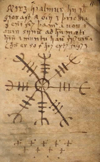 Ancient Occult Symbols – The Aegishjalmur