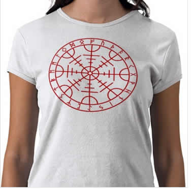 Aegishialmur tshirt